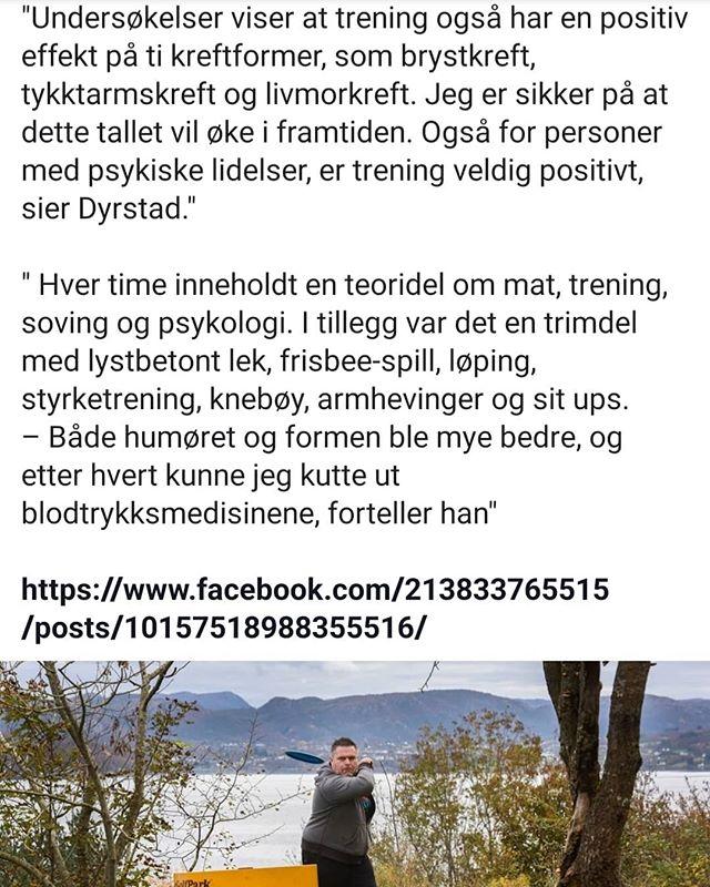 Artikkel fra Aftenposten. Jo mer vi lærer, jo viktigere ser vi trening er. Vi hjelper deg gjerne å komme i gang!